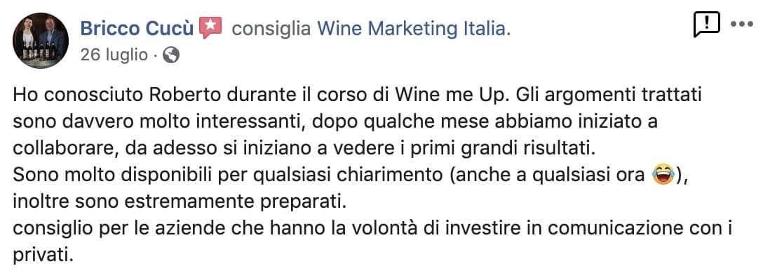 Recensioni Wine Marketing Italia