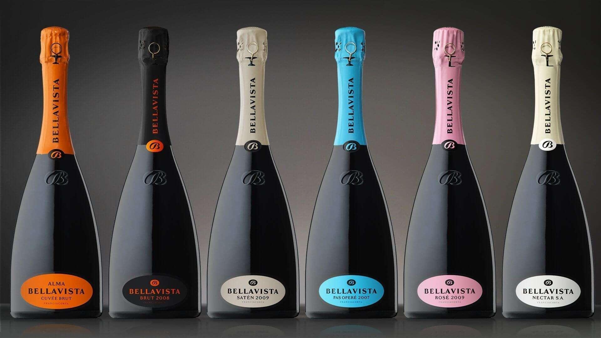 packaging bottiglia Bellavista