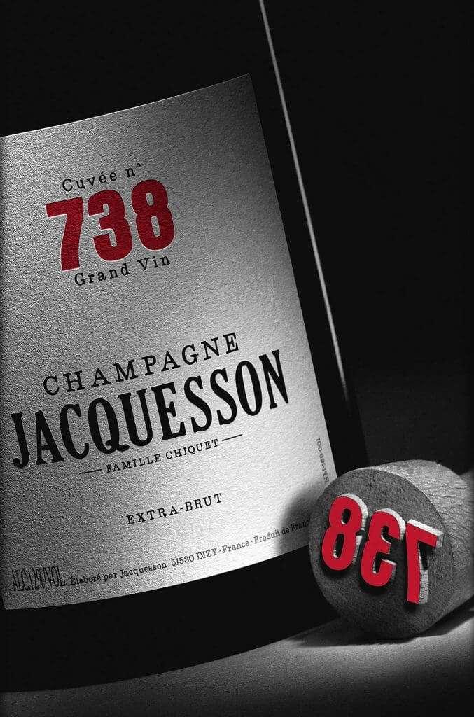packaging bottiglia Champagne Jacquesson
