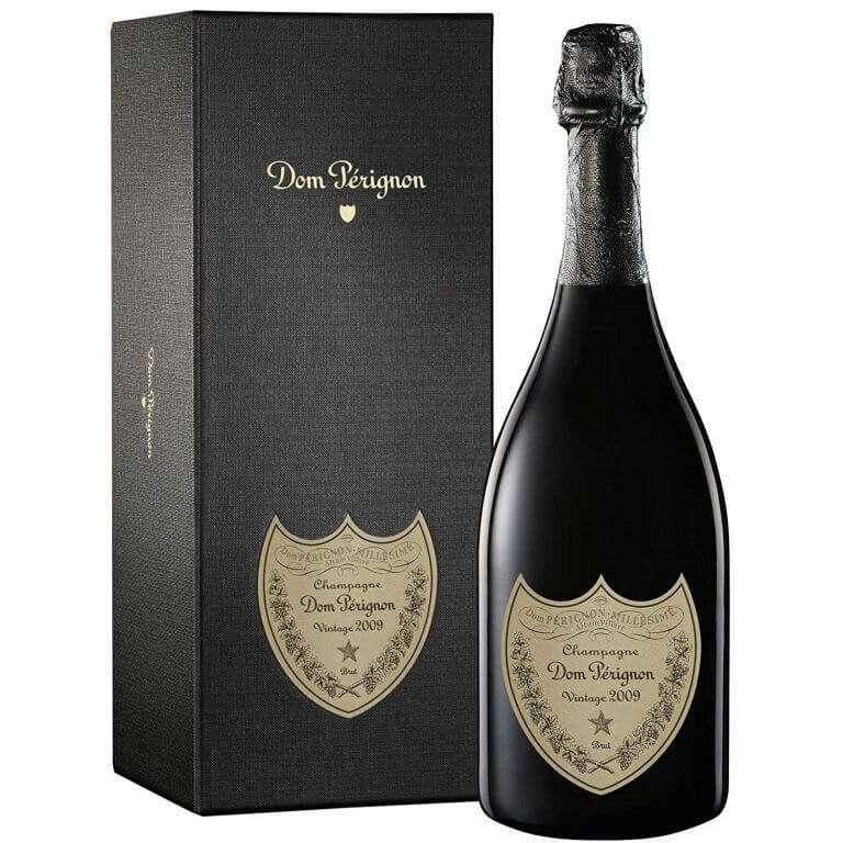 packaging bottiglia Dom Pérignon