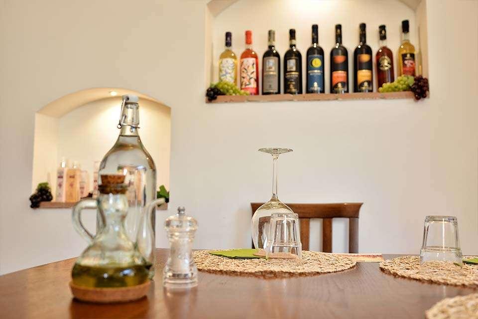 Sala degustazioni di Poggio al Bosco