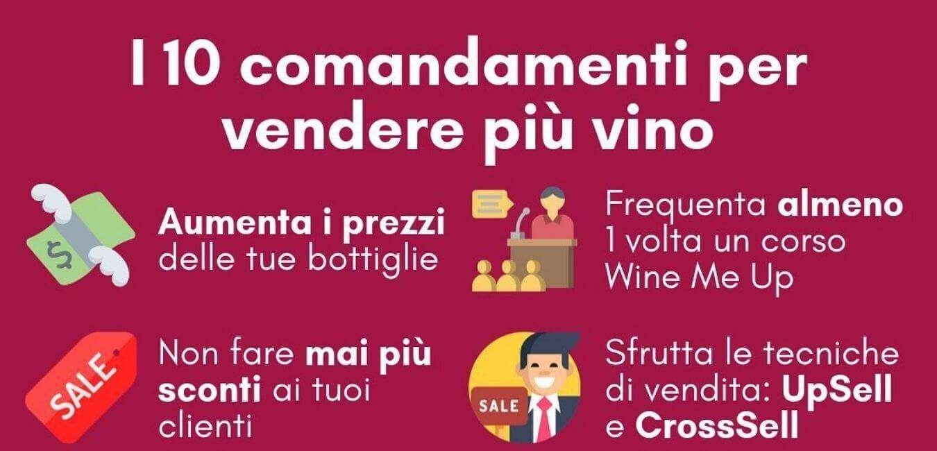 10 comandamenti per vendere più vino